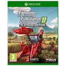 XONE - Farming Simulator 2017 Platinum Edition