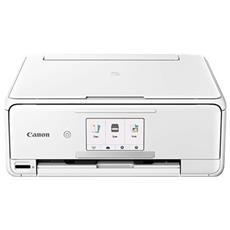 Stampante Multifunzione Pixma TS8151 Inkjet a Colori Stampa Copia Scansione A4 10 Ppm Bluetooth Wi-Fi USB