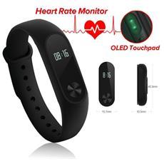 Contapassi Resistenza all'acqua IP67 con Bluetooth e Attiva a Rotazione per Cardiofrequenzimetro Colore Nero