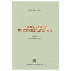 Bibliographie du Concile Vatican II
