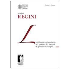 Riforma universitaria nel quadro dei sistemi di governance europei (La)