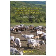 Dal pascolo alla tavola: sicurezza e qualità dei prodotti «podolici». Atti del Convegno (Zungoli, 29 ottobre 2011)