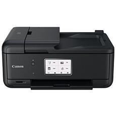 Stampante Multifunzione Pixma TR8550 Inkjet a Colori Stampa Copia Scansione Fax A4 10 Ppm Bluetooth Wi-Fi USB