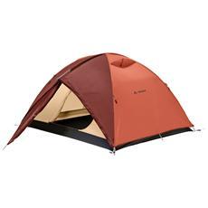 Tenda da Campeggio Campo per 3 Persone Terracotta