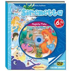 Magiche Fiabe - La Sirenetta (Libro+Dvd)