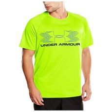 T-shirt Movement L Giallo Fluo