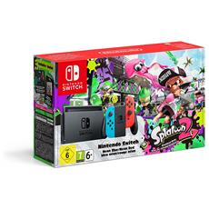 Switch Joy-Con Neon Rosso Blu + Splatoon 2 Limited bundle