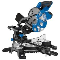Troncatrice Di Precisione Con Base Circolare Con Laser + Lama 40t Acciaio Draper