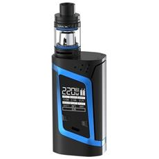 Alien Kit–220w Temperature Controlled Mod With 2ml Tfv8baby Tank–100% Authentic From Premier Vaping (black / blue)
