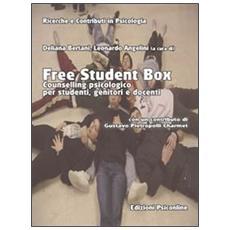 Free student box. Counselling psicologico per studenti, genitori e docenti