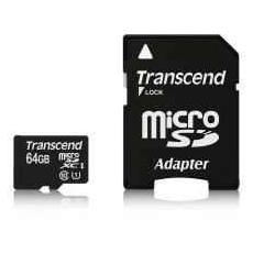 MicroSDHC U1 da 64GB con adattatore