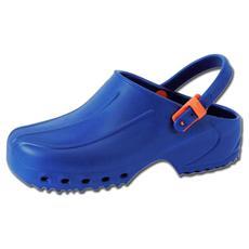 Zoccoli Ultra Leggeri Con Laccetto - 36 - Blu