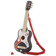 82979 - Chitarra Rock Con Plettro E Tracolla
