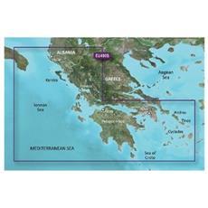 Mappa Nautica Grecia Occidentale e Atene SD / MicroSD