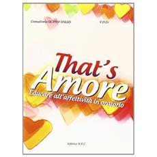 That's amore. Educare all'affettività in oratorio