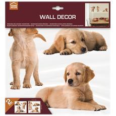 Adesivi Wall Decor M Puppies