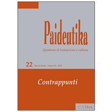 Paideutika. Vol. 22: Contrappunti.