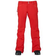 Pantalone Snowboard Donna Society Rosso M