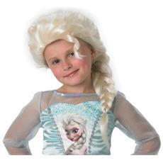 Parrucca Di Elsa Di Frozen Bambina Taglia Unica