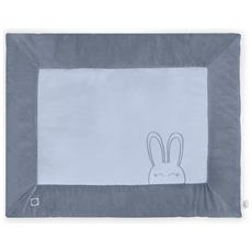 Trapunta Per Bimbi Da Box 80x100 Cm Sweet Bunny Blu