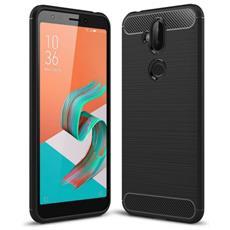Custodia Cover Tpu Gomma Silicone Per Smartphone Asus Zenfone 5 Lite Zc600kl