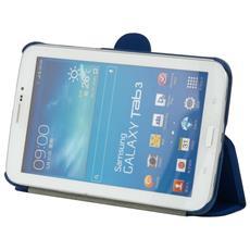 222-051GZ-25, Foglio, Blu, Policarbonato, Samsung, Samsung Galaxy Tab 3 7.0, Antigraffio, Resistente agli urti
