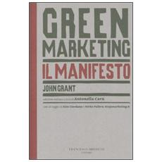 Green marketing. Il manifesto