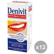 Set 12 Denivit Dentifricio Antimacchia 50 Ml. Prodotti Per Il Viso