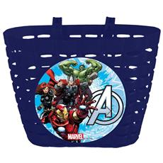 Cestino Porta Giochi Avengers Per Bicicletta Bambini