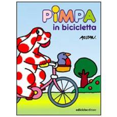 Pimpa in bicicletta