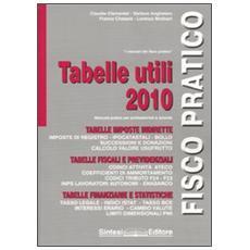 Tabelle utili 2010