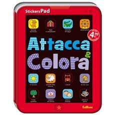 Stickerspad - Attacca E Colora