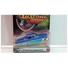 Hot Wheels - Custom Classics - '62 Pontiac Bonneville - Blu