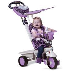Triciclo Per Bambini 4 In 1 Viola Dream