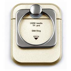 I-SMART-RINGG - Anello e Supporto per Smartphone Oro