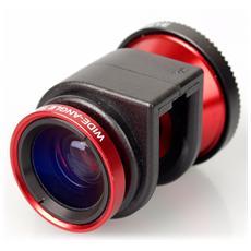 Original 3-IN-1 Lens per iPhone 5/5s - Rosso