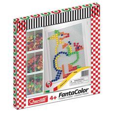 Fantacolor Basic - 150 Chiodini di 10 mm - Lavagnetta Grande