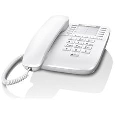 Telefono a filo DA510 Bianco con 10 tasti di chiamata diretta - Europa
