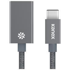 USB-C su USB 3.0 adatt. space grigio