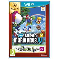 WIIU - New Super Mario Bros. U + New Super Luigi U Select