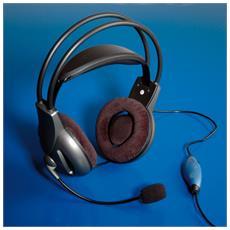 Headset De Luxe cuffia e auricolare