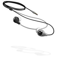 Bullet Shade, Intraurale, Interno orecchio, 20 - 20000 Hz, Cablato, Nero, Grigio, 3,5 mm