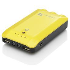 Power box 6800, Polimeri di litio (LiPo) , Giallo, DC, GPS, Tablet, Telefono, Micro-USB
