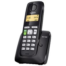 "Cordless AS160 Display 1,4"" Vivavoce Dect - Nero"