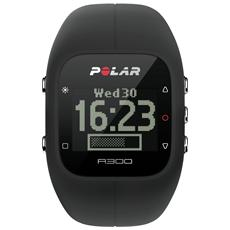 A300 Orologio Fitness e Activity Monitor Bluetooth con Cardiofrequenzimetro Calorie e Sonno - Nero