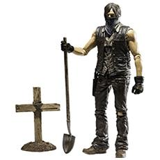Figura The Walking Dead Tv Version Action Figure Serie 9 Grave Digger Daryl Dixon Dirt Ver. 13 Cm