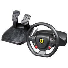 Volante + Pedali Ferrari 458 Italia Wheel per Xbox 360 e PC