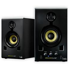 altoparlanti xps 2.0 60 dj set 2.0 - 30W Rms - Ingresso Linea Audio 3,5 mm