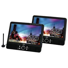 Lettore Dvd Portatile Tw 7009 Con 2 Display