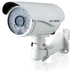Videocamera IP di sorveglianza per esterno - Bianco